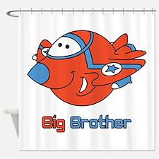 Big Bro Fighter Jet Shower Curtain