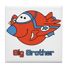 Big Bro Fighter Jet Tile Coaster