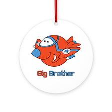 Big Bro Fighter Jet Ornament (Round)