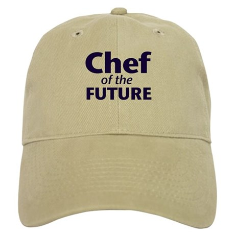 Chef of the Future - Khaki Culinary Student Cap