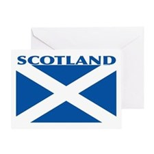 Scotland Flag: St. Andrew's Greeting Card