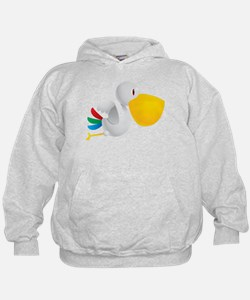Cute and Cuddly Baby Pelican Hoodie