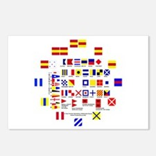 Nautical Flags Postcards (Package of 8)