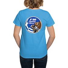F-16 Falcon Women's T-Shirt (Dark)