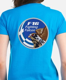 F-16 Falcon Women's T-Shirt (Dark)