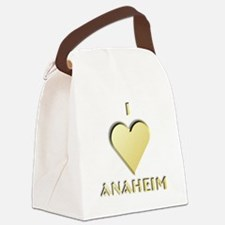 I Love Anaheim #9 Canvas Lunch Bag