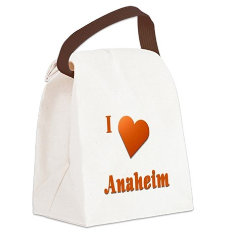 I Love Anaheim #17 Canvas Lunch Bag