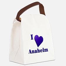 I Love Anaheim #18 Canvas Lunch Bag