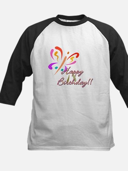 happy Birthday Kids Baseball Jersey
