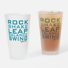 Shake and Rock Highland Babe Drinking Glass