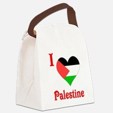 I Love Palestine #5 Canvas Lunch Bag