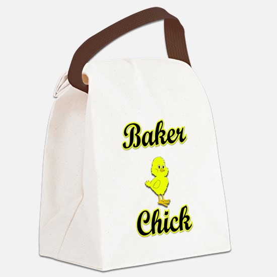 Baker Chick Canvas Lunch Bag