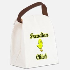 Freudian Chick Canvas Lunch Bag