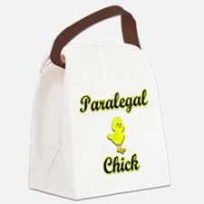 Paralegal Chick Canvas Lunch Bag
