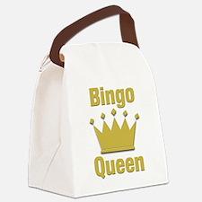 Bingo Queen Canvas Lunch Bag