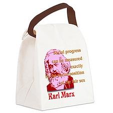 Social Progress Canvas Lunch Bag