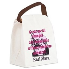 Great Social Changes Canvas Lunch Bag