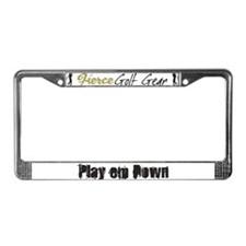 Play em down License Plate Frame