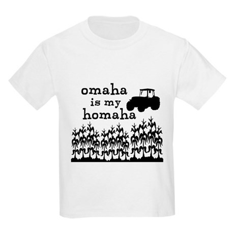 Omaha is My Homaha Kids Light T-Shirt