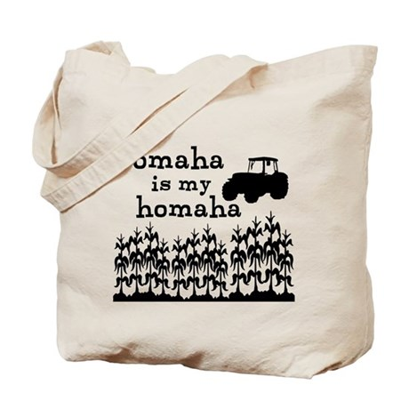 Omaha is My Homaha Tote Bag