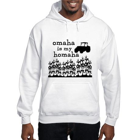 Omaha is My Homaha Hooded Sweatshirt