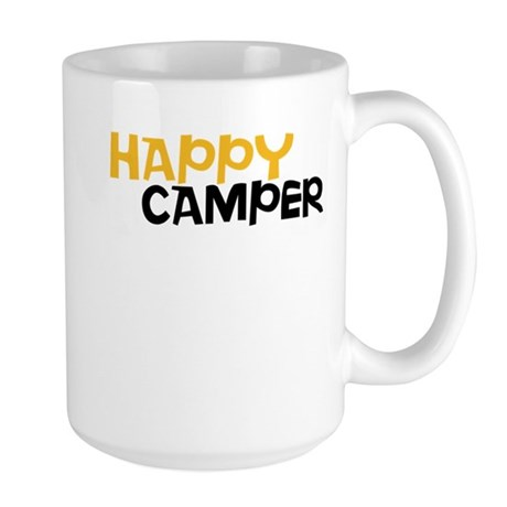 Happy Camper Large Mug