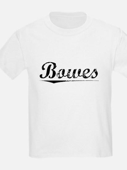 Bowes, Vintage T-Shirt