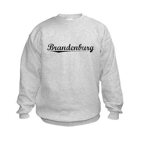 Brandenburg, Vintage Kids Sweatshirt