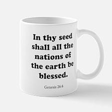 Genesis 26:4 Mug