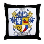 MacConnell Coat of Arms Throw Pillow