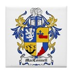 MacConnell Coat of Arms Tile Coaster