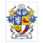 MacConnell Coat of Arms Small Poster