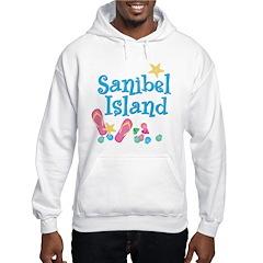 Sanibel Island - Ash Grey Hoodie