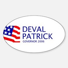 Patrick 06 Oval Decal