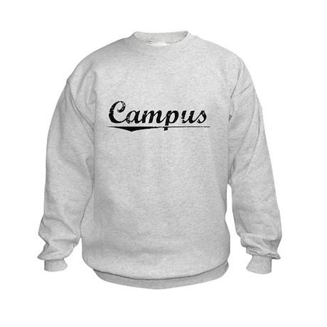 Campus, Vintage Kids Sweatshirt