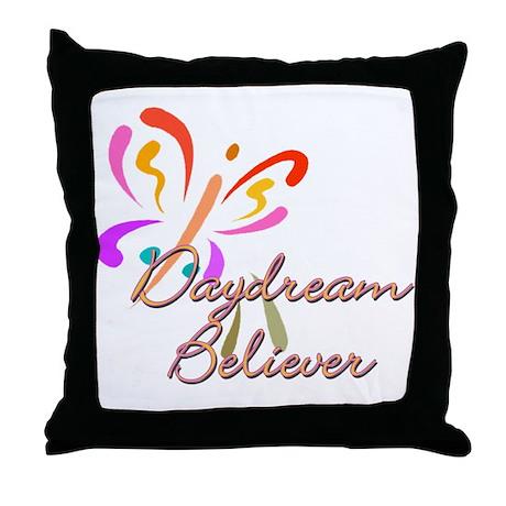 Daydream believer Throw Pillow