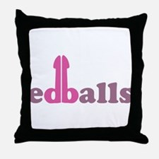 Ed Balls Throw Pillow