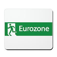 Eurozone Exit Mousepad