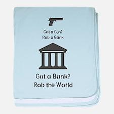 Got a Gun? baby blanket