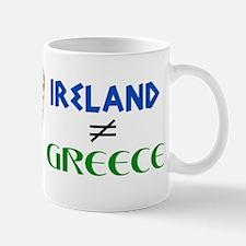 Ireland is Not Greece Mug