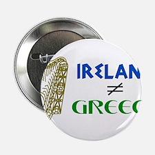"Ireland is Not Greece 2.25"" Button"