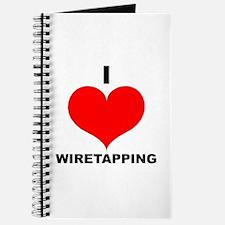 I Love Wiretapping Journal