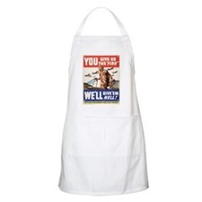 WW2 YOU GIVE US THE FIRE BBQ Apron
