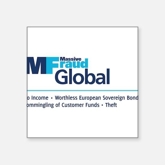 "MF Global Services Square Sticker 3"" x 3"""