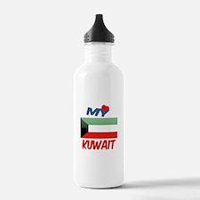 My Love Kuwait Water Bottle