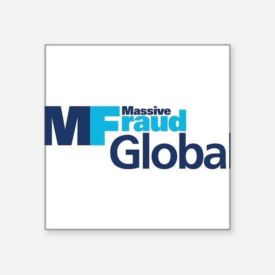 "MF Global Square Sticker 3"" x 3"""