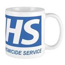 NHS - National Homicide Service Small Mug