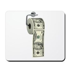 Dollar Toilet Paper Mousepad