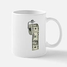 Dollar Toilet Paper Mug
