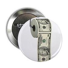 "Dollar Toilet Paper 2.25"" Button"